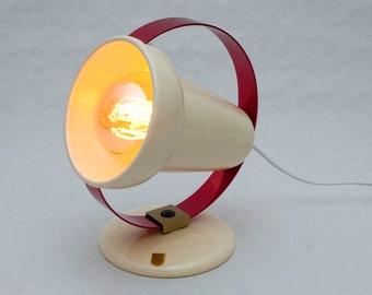 1950s design vintage refurbished lamp