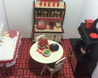 1:12 Scale Country Kitchen Collection (each piece sold seperately)