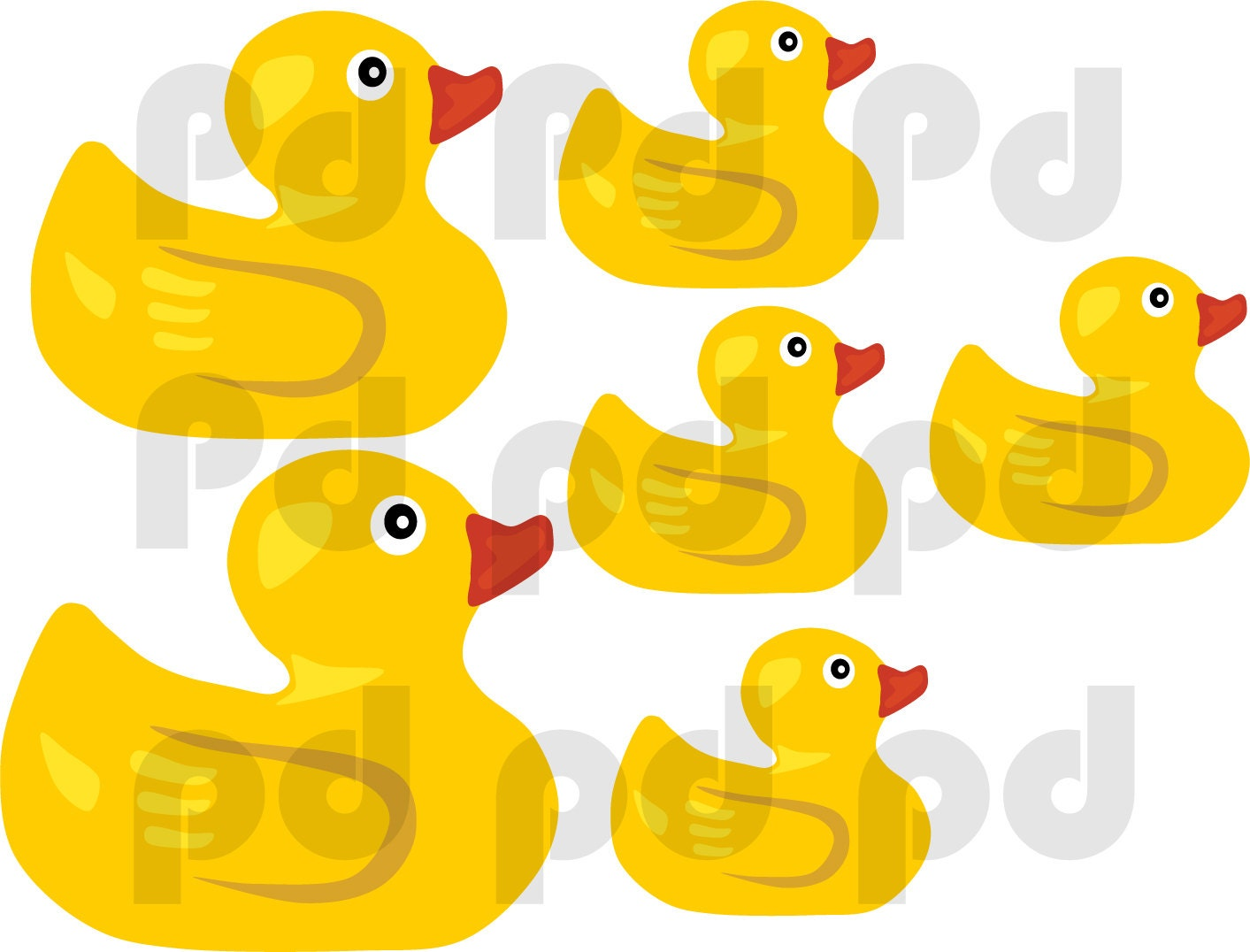 Rubber Duck Wall Stickers Image collections - home design wall stickers
