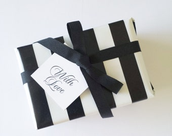 Luxury Linen With Love Mini Gift Tags