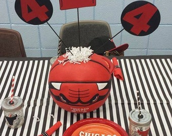 Chicago Bulls basketball centerpiece