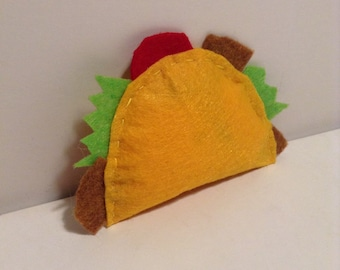 Taco Catnip Toy For Cats