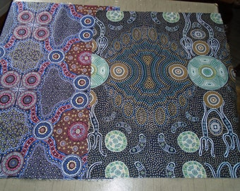 Australian Fabric, Fat Quarters