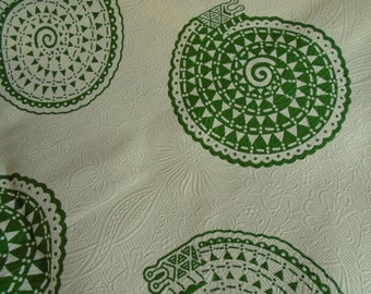 1/2 Yard Cut African Print - Cotton Embossed Fabric