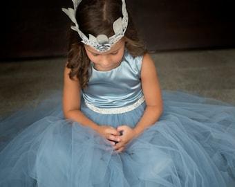 flower girls tulle dress,Soft tulle dress,Girls Dress, Flower Girls CUSTOM sewn dress