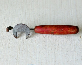 Vintage ,Red Handled, Up-N-Off ,Cap Lift,  Bottle Opener