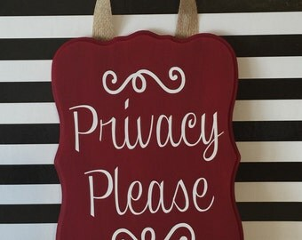 Privacy Signs Etsy