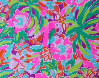Customize My Applique with this Lilly Pulitzer Print / Lulu Print and Coordinating Threads
