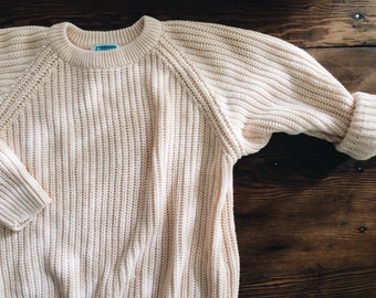 Vintage 80s Thick Knit - Size S