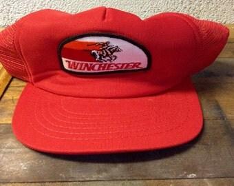 Vintage winchester trucker hat