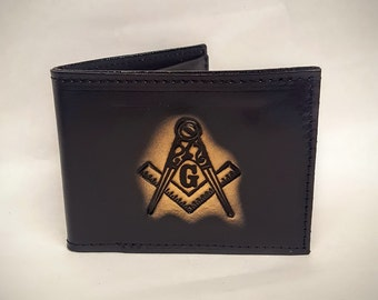 Mason Bifold or Trifold Leather Wallet