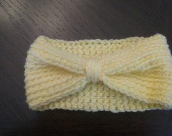 Crocheted earwarmer headband all sizes