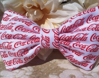 Coca-Cola Fabric Bow