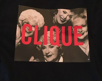 "Golden Girls ""Clique"" tee"