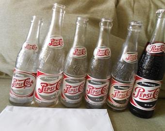 6vintage Pepsi Cola 1948 - 1958