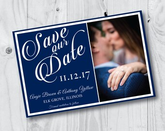 Picture Split Save The Date