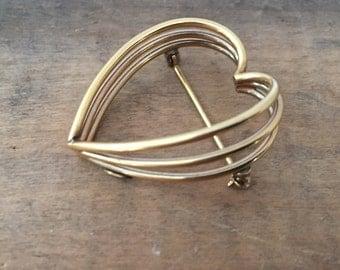 Vintage Dancecraft 12 K Filled Heart Pine
