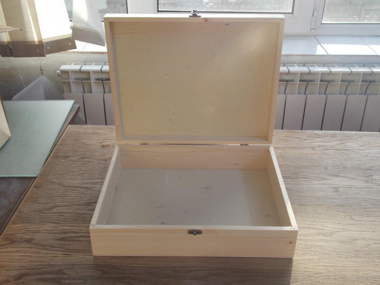 Large Wooden Big Box Unfinished Wood Box Extralage Box