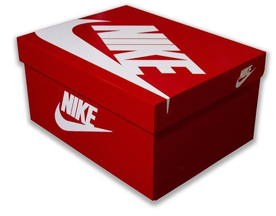 High Gloss Sportswear Sneaker Box Storage - Please read listing