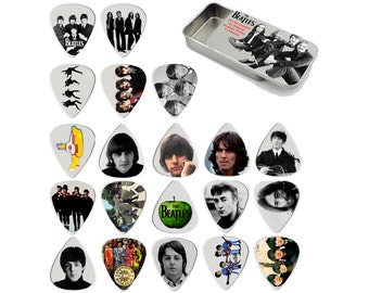 Beatles Guitar Pick Gift Set - Set of 20