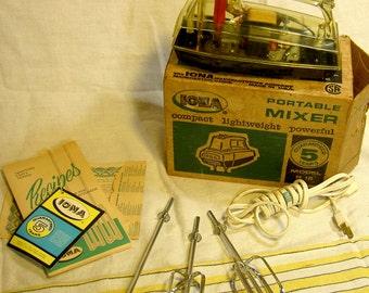 vintage midcentury electric mixer
