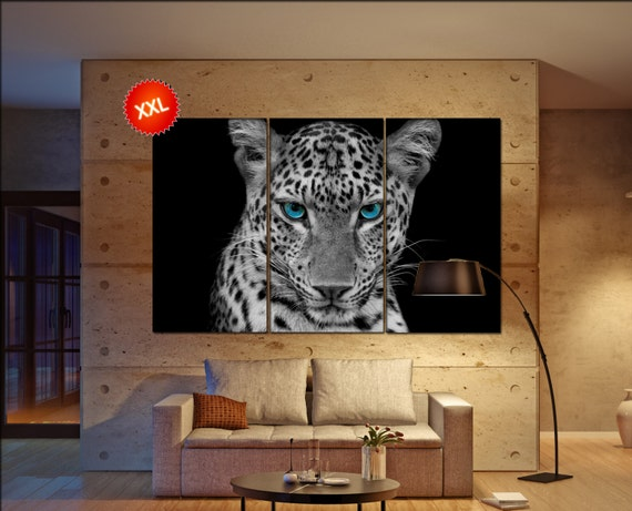panther  canvas wall art panther wall decoration panther canvas wall art art panther large canvas wall art  wall decor