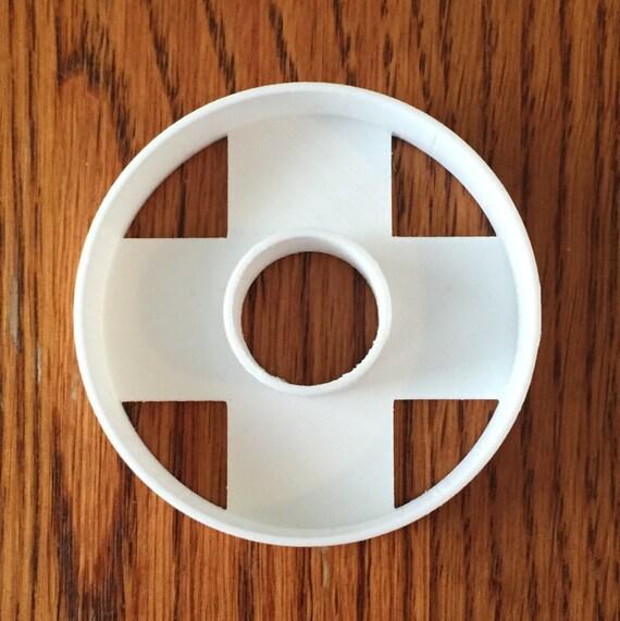 Round Donut polymer clay cutter