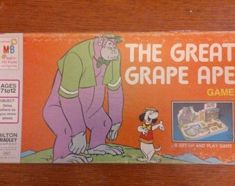 The Great Grape Ape board game - vintage 1975