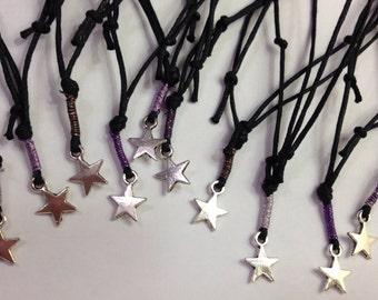 Star charm bracelets