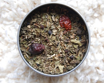 COLD IMMUNITY Organic Herbal Tea Blend, Herbal Tea, Loose Herbal Tea