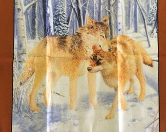 Wolves in the Snow 2 pack Fat Quarters