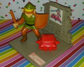 Vintage 1988 Hasbro Nintendo Trophy Legend of Zelda (A Trap Attacks Link)