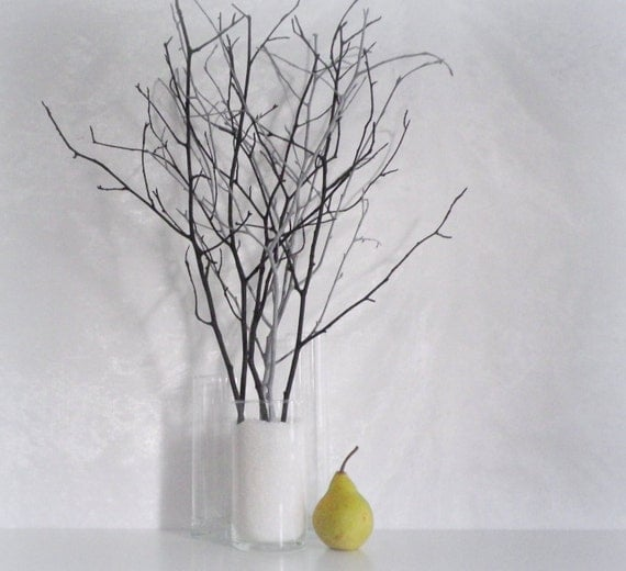 Https Www Etsy Com Listing 398711407 Woodland Home Decor Branches Black Grey