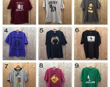 You Choose Grunge Tee, vintage T-shirts, old shirts