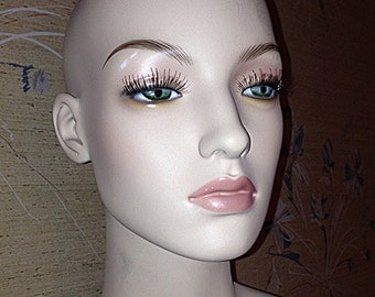 Roxy Display full body, female flesh tone, with makeup-mannequin/adjustable