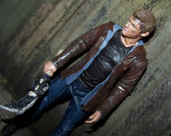 Supernatural Custom Figure Dean Winchester SPN Ackles *MADE To ORDER - Pick Your Favorite Dean*