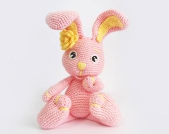 Easter Bunny Crochet, Easter Rabbit crochet, Plush bunny, Amigurumi Animals, Baby Stuffed Toys, amigurumi dolls, Easter Stuffed toys