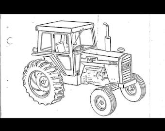 Massey Ferguson Mf50 Tractor Parts