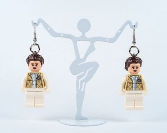 Star Wars LEGO® Earrings Princess Leia