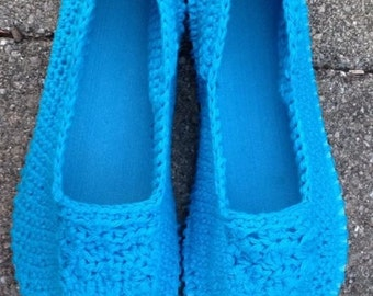 Crochet slippers, crochet house slippers, crochet shoes, women slippers, gift for her, spring slippers, summer slippers, house slippers