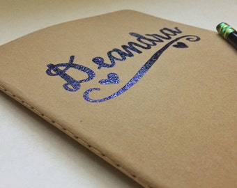 Custom Embossed Moleskine Notebook
