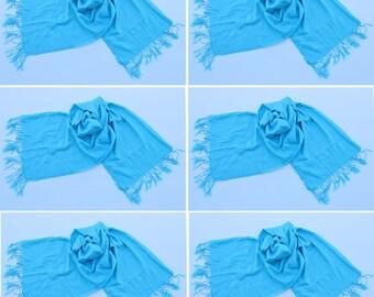 6 BABY Blue ,pashmina scarf,pashmina shawl,bridesmaid shawls,Pashmina Wedding,scarf, shawl, scarves 011