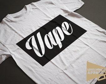 Vape Vaping Men's Shisha E-Cig T-Shirt