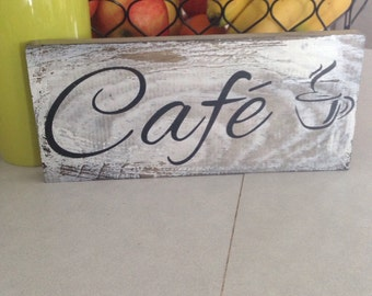 Wooden Coffee Sign, Cafe sign, kitchen sign decor