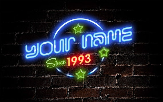 Personalized Neon Sign For Tweens