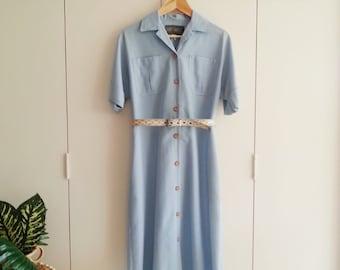 SALE - Vintage Dress - Retro Fashion - Vintage Clothing - Eighties Dress - Office Fashion