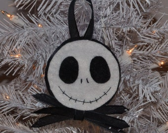Customized Jack Skellington Ornament