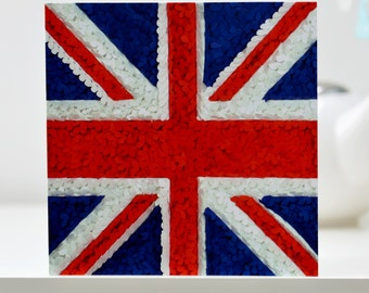 Union Jack Card, British Flag Card, Brexit Card, UKIP Card, England Card, British Bulldog Card