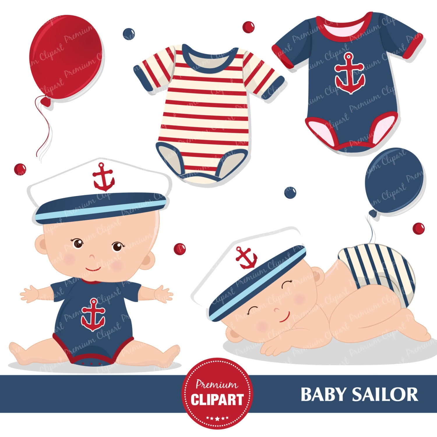 Nautical baby shower clipart, Baby sailor, Sailing clipart ...