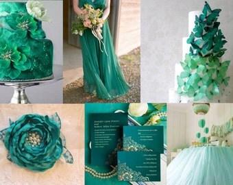 Emerald green bridal corsage, sash, belt, wedding flower sash, wedding sash, bridal gown sash, flower belt, flower sash belt, dress sash
